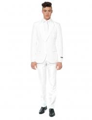 Mr. Solid Hvid jakkesæt til mænd - Suitmeister™