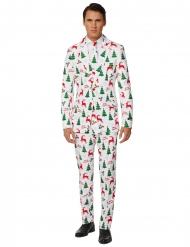 Mr. Merry Xmas hvidt jakkesæt til mænd - Suitmeister™
