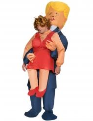 Oppusteligt Trump kostume til voksne - Morphsuits™