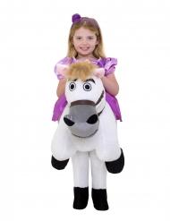 Prinsesse Rapunzel på hest kostume til piger - Morphsuits™