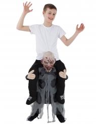 Barn på ryggen af en zombie kostume - Morphsuits™