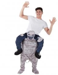 Mand på ryggen af et mumie - Morphsuits™ til voksne