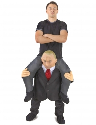 Kostume mand båret af Putin voksen ™ Morphsuits