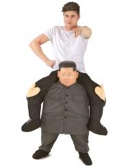 Kostume på ryggen af Kim Jong-Un voksen Morphsuits™