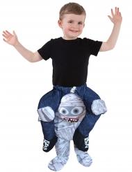 Barn på ryggen af et mumie - Morphsuits™ til børn
