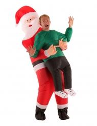 Oppusteligt julemandskostume til voksne - Morphsuits™
