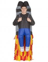 Mand båret af Jet Pack voksen Morphsuits™