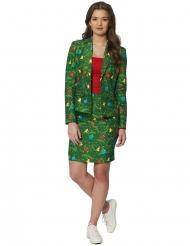 Mrs. Christmas i grønt til kvinder - Suitmeister™