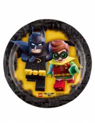 Små paptallerkener 18 cm - Batman LEGO™