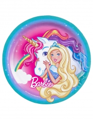 Barbie Dreamtopia™ tallerkener 8 stk