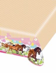 Plastikdug Charming Horses 120x180cm