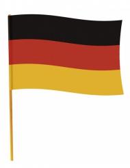 Tysk flag med pind 70 x 90 cm