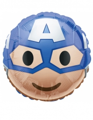 Emoji™ aluminiumsballon Captain America™ 43 cm