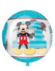 Mickey rund aluminiumsballon 38x40cm