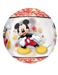 Rund Mickey™ aluminiumsballon 38x40cm