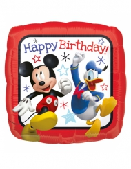 Mickey™ aluminiumsballon Happy Birthday 40x40cm