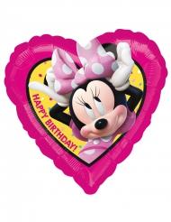 Hjerteformet ballon med Minnie™