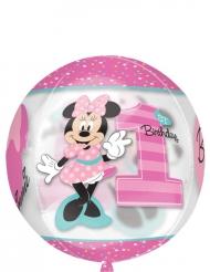 Rund aluminiumsballon med Minnie™