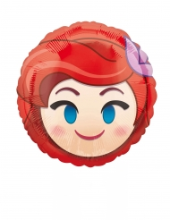 Ariel Emoji™ aluminiumsballon