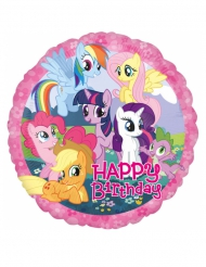 My Little Pony™ aluminiumsballon - Happy Bitrhday