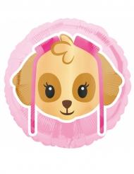 Paw Patrol™ aluminiumsballon med Stella Emoji™