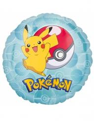 Pikachu™ aluminiumsballon 43 cm