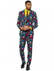Mr. Batman™ jakkesæt til voksne - Opposuits™