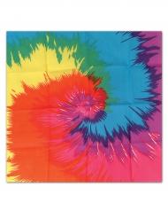 Multifarvet Hippie bandana