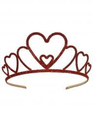 Hjerteformet krone til voksne