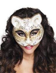 Venetiansk kattemaske til kvinder