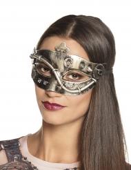 Steampunk halvmaske kvinde