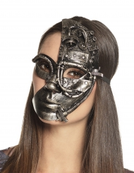 Halvmaske robot Steampunk kvinde