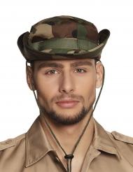 Camouflage hat til voksne