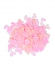 Lyserødt hjerteformet konfetti 20 gr