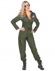 Flypilot kostume til kvinder