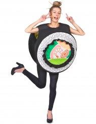 Maki sushi rulle kostume til voksne