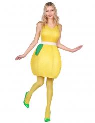 Citron kostume til kvinder