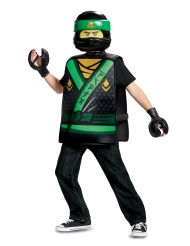 Grønt og sort LIoyd Ninjago™ kostume til børn - LEGO®