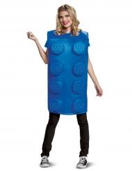Blå legoklods kostume til voksne - LEGO®