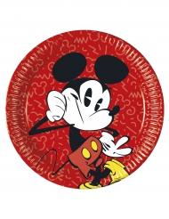 Mickey™ paptallerkerne i røde
