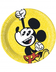 Mickey™ paptallerkener i retro stil