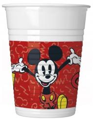 Røde Mickey krus 200 ml