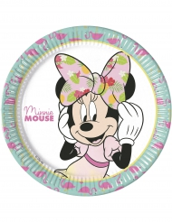 Tropical Minnie™ paptallerkener 8 stk.