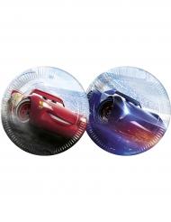 Cars™ paptallerkener - Lynet McQueen™ og Jackson Storm™