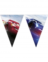 Guirlande 9 vimpler Cars 3™ 2,3 m x 25 cm