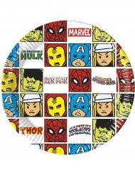 Avengers™ paptallerkener 8 stk