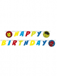 Avengers™ guirlande Happy Birthday