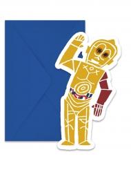 Star Wars Forces™ invitationer + konvolutter