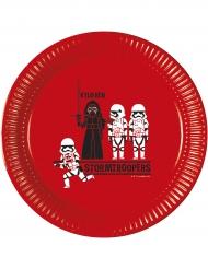 Star Wars™ tallerkener 8 stk