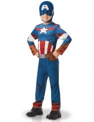 Klassisk Captain America™ kostume til drenge